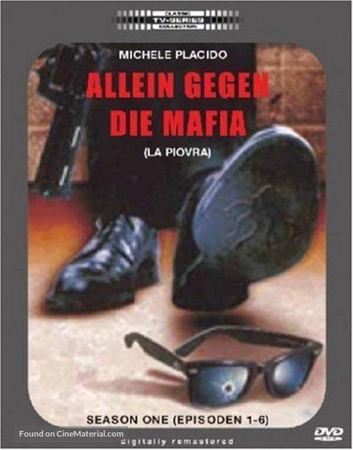 """La piovra"" - German DVD movie cover"