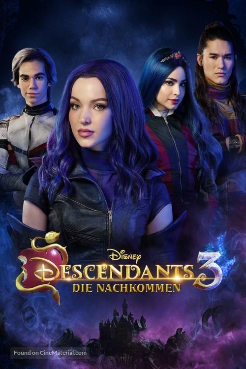 Descendants 3 - German Movie Cover