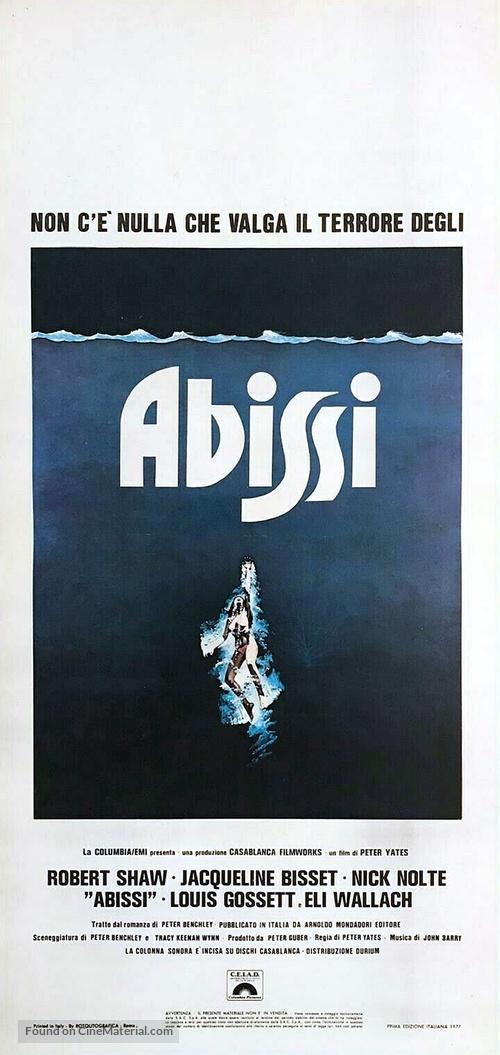 The Deep - Italian Movie Poster