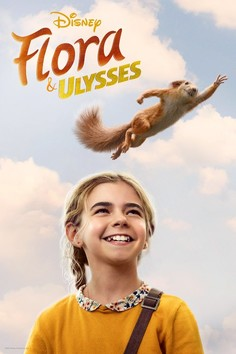 Flora & Ulysses (2021) movie cover