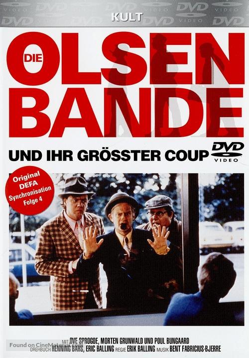 Olsen-bandens store kup - German DVD cover