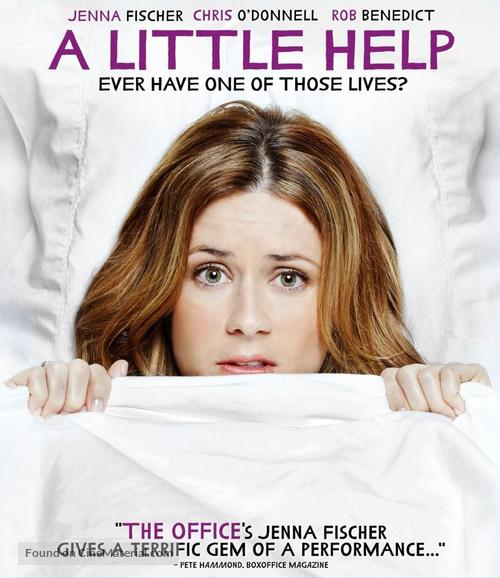 A Little Help - Blu-Ray movie cover