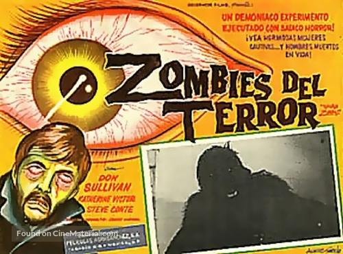 Teenage Zombies - Spanish Movie Poster