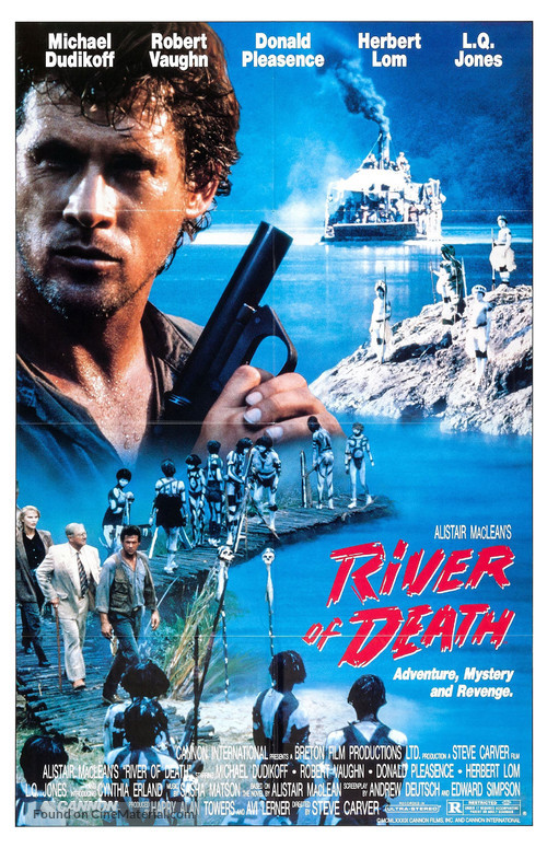 River of Death - Movie Poster