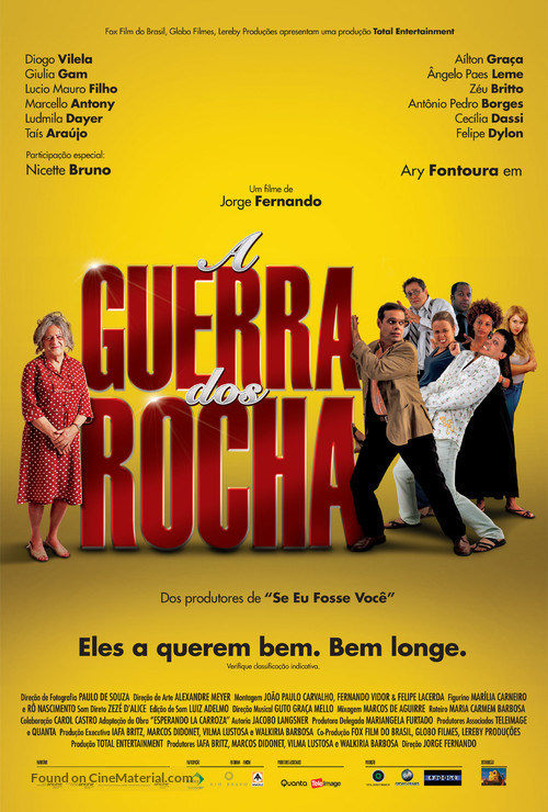 A Guerra dos Rocha - Brazilian Movie Poster