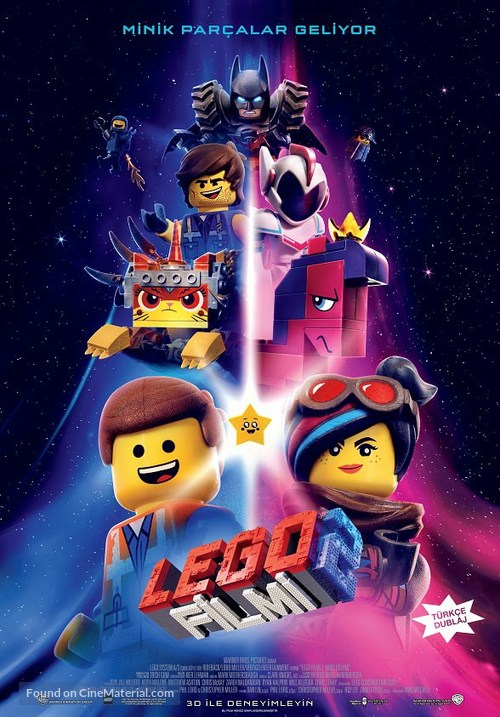 The Lego Movie 2: The Second Part - Turkish Movie Poster