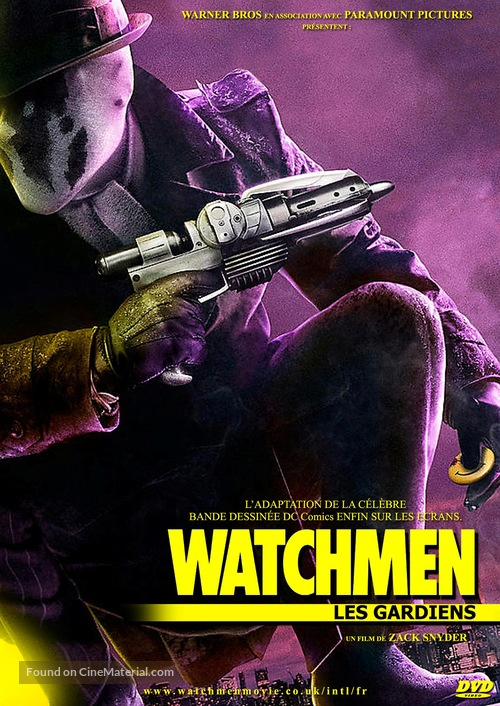 Watchmen - French Movie Cover