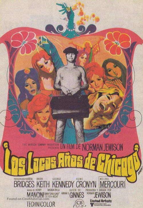 Gaily, Gaily - Spanish Movie Poster