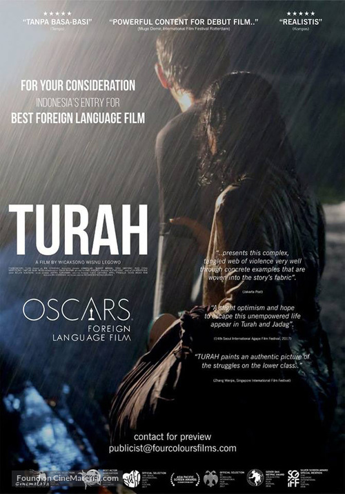 Turah for your consideration poster  Turah for your ...