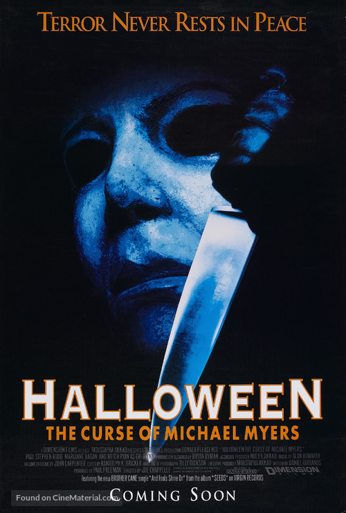 Halloween: The Curse of Michael Myers - Movie Poster