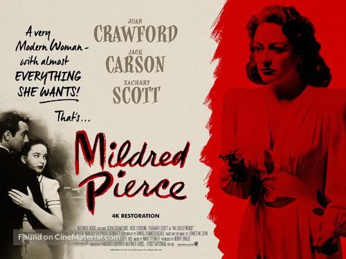 Mildred Pierce - British Movie Poster