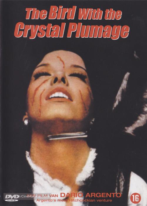 L'uccello dalle piume di cristallo - Belgian Movie Cover