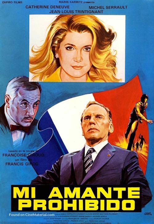 Bon plaisir, Le - Spanish Movie Poster