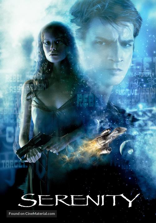 Serenity - DVD movie cover