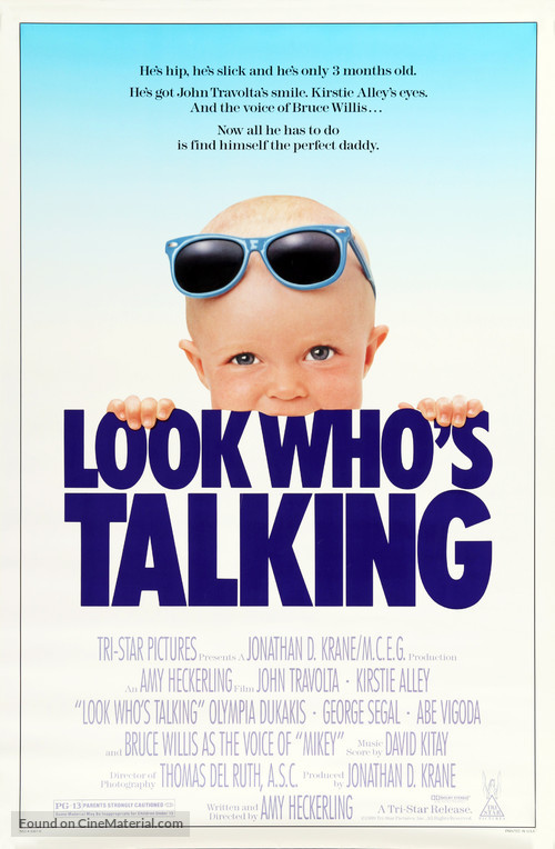 Look Who's Talking - Movie Poster