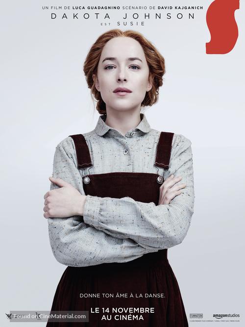 Suspiria - French Movie Poster