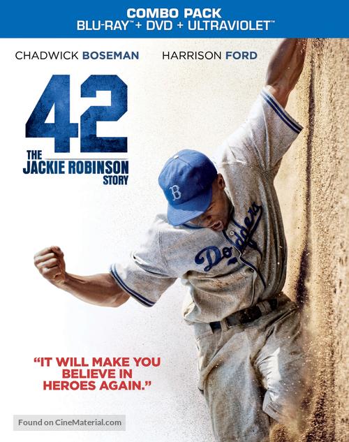 42 - Blu-Ray movie cover
