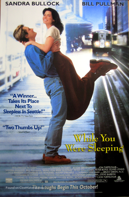 While You Were Sleeping - Video release movie poster