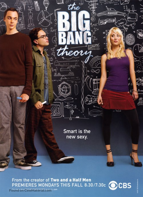 """The Big Bang Theory"" - Advance poster"