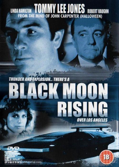 Black Moon Rising (1986) British movie cover