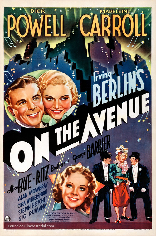 On the Avenue - Movie Poster