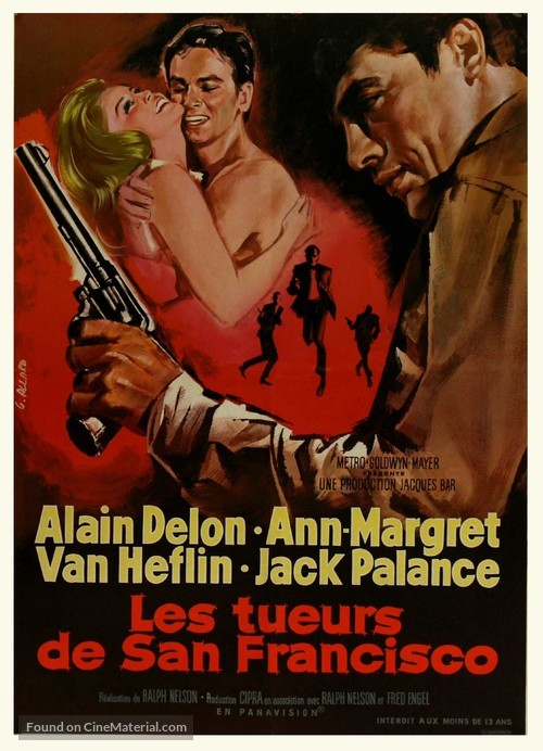 Once a Thief - French Movie Poster