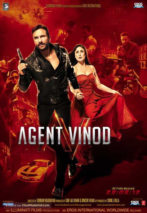 Agent Vinod - Indian Movie Poster