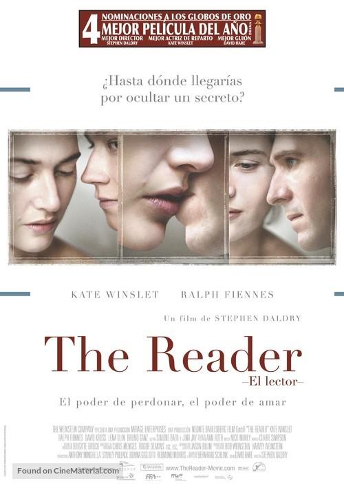 The Reader - Spanish Movie Poster