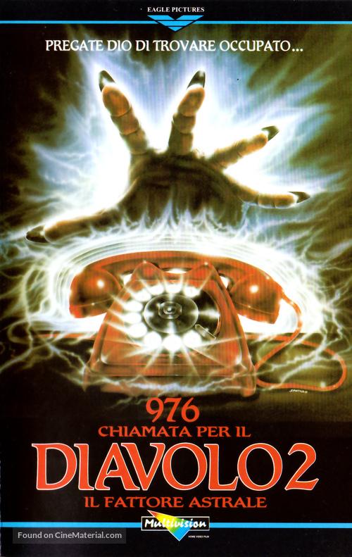 976-Evil II - Italian VHS movie cover