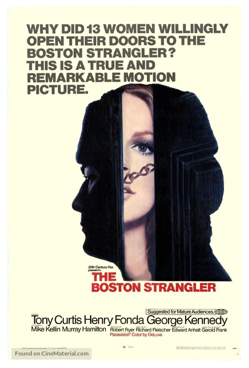 The Boston Strangler - Movie Poster