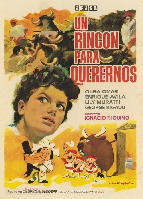 Un rincón para querernos - Spanish Movie Poster