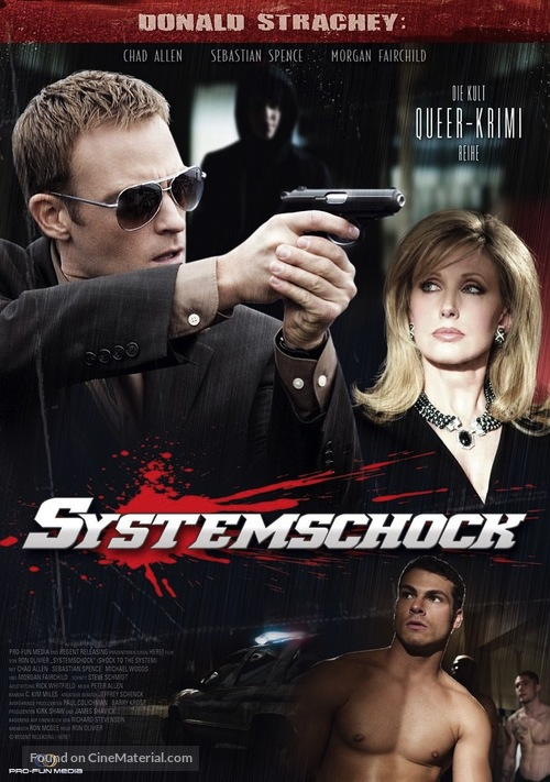 Shock to the System - German Movie Poster