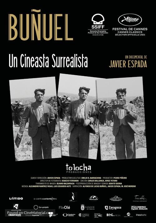 Buñuel, un cineasta surrealista - Spanish Movie Poster