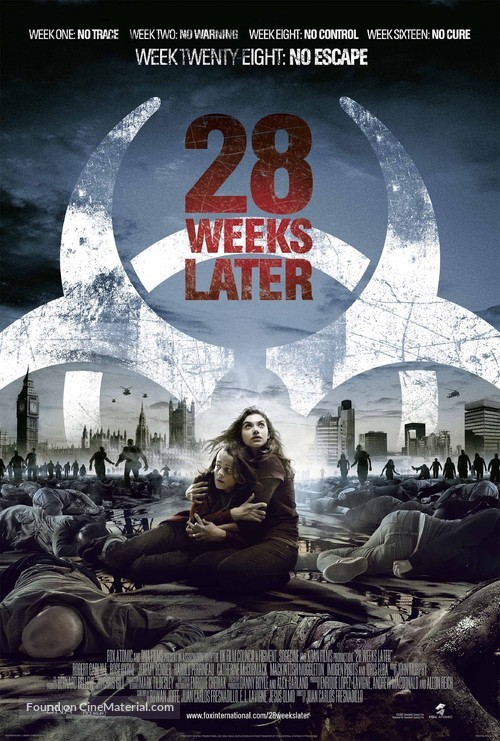 28 Weeks Later - Theatrical movie poster