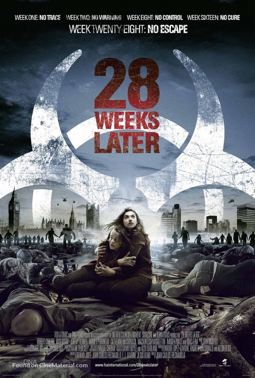 28 Weeks Later - Theatrical poster