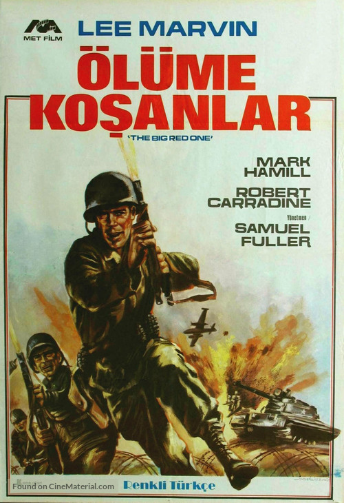 The Big Red One - Turkish Movie Poster