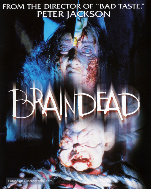 Braindead - Blu-Ray movie cover