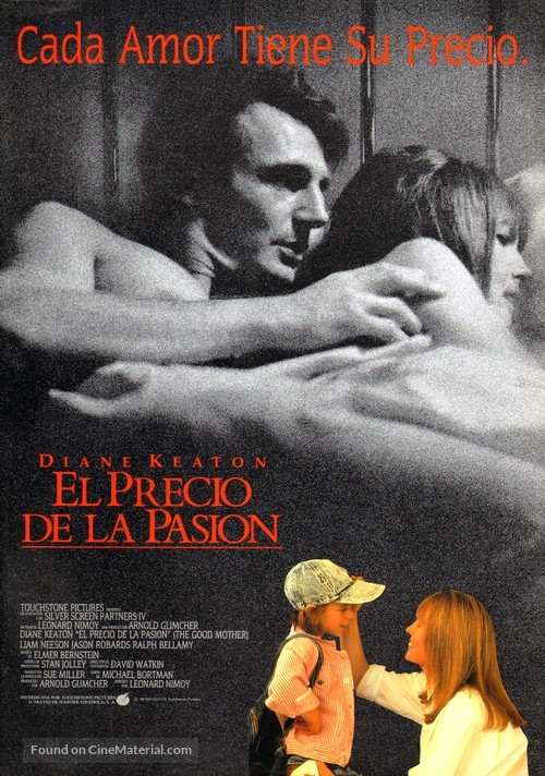 The Good Mother - Spanish Movie Poster