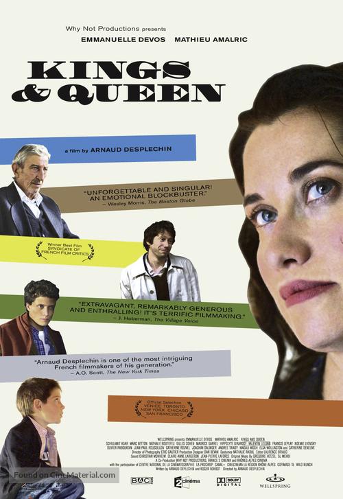 Rois et reine - poster