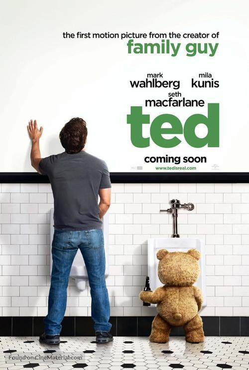 Ted - British Movie Poster