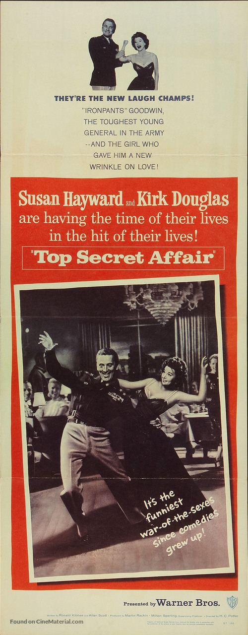 Top Secret Affair - Movie Poster
