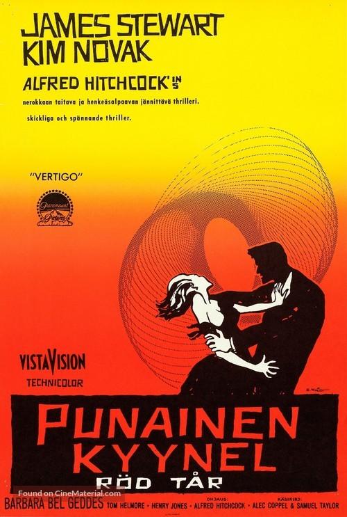 Vertigo - Finnish Movie Poster