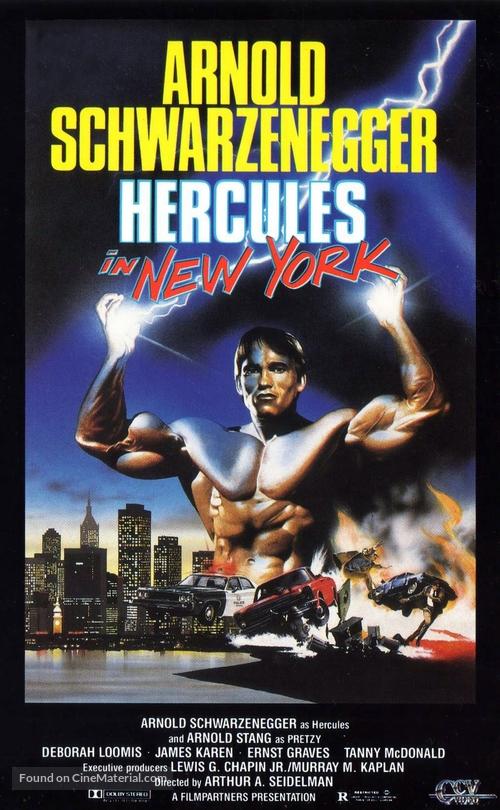 Hercules In New York - Movie Poster