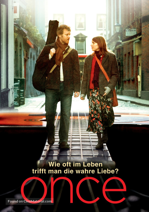Once - German Movie Poster