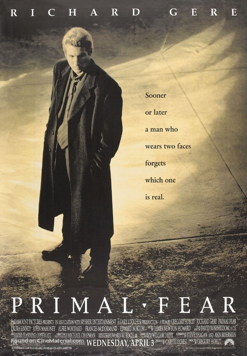 Primal Fear - Movie Poster