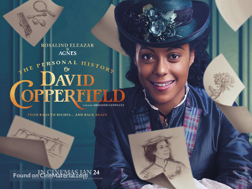 The Personal History of David Copperfield - British Movie Poster