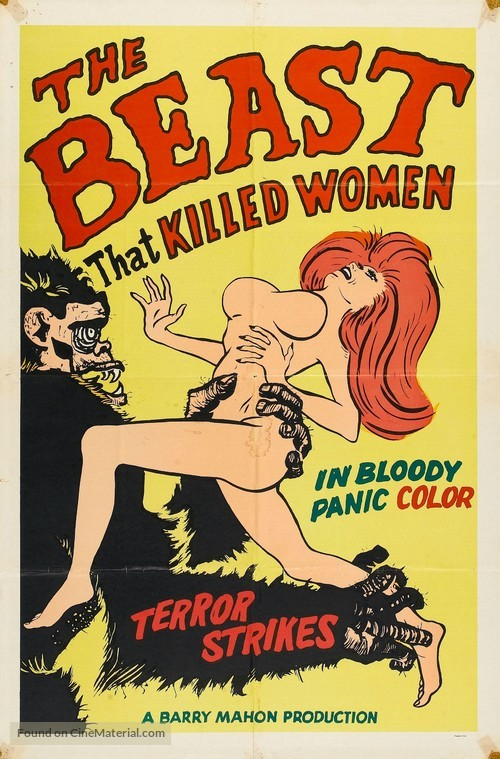 The Beast That Killed Women - Movie Poster