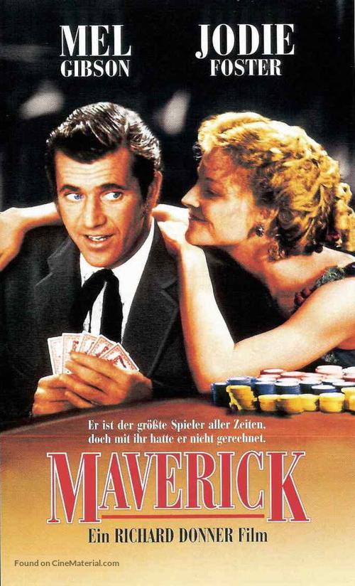 Maverick - German Movie Cover
