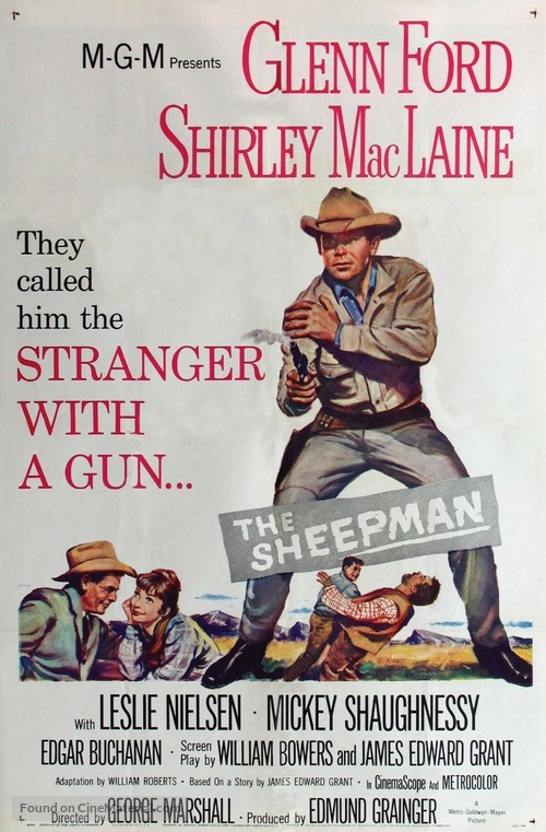 The Sheepman - Movie Poster
