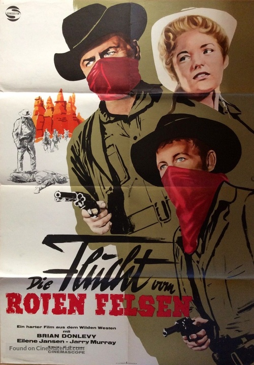 Escape from Red Rock - German Movie Poster